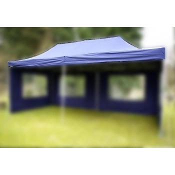 Náhradní střecha k party stanu 3 x 6 m, modrá