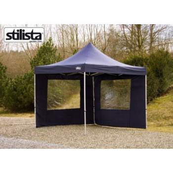 Sada 2 bočních stěn pro zahradní altán STILISTA 3 x 3 m - modrá