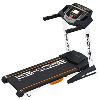 Běžecký pás s elektronicky nastavitelným náklonem
