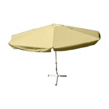 Slunečník - champagne, 4 m