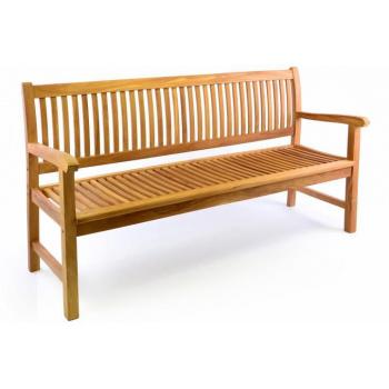 Zahradní lavice DIVERO 3-místná masiv 180 cm