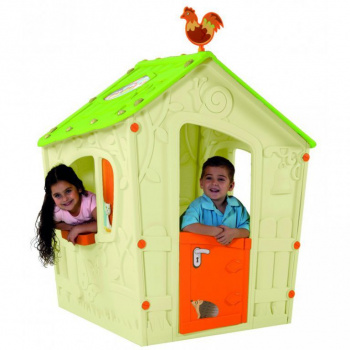 Dětský hrací domeček MAGIC PLAY HOUSE - béžový