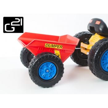 Příslušenství G21 vlečka k šlapacímu traktoru červená