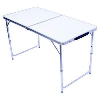hliníkový sklopný přenosný stůl 120x60cm