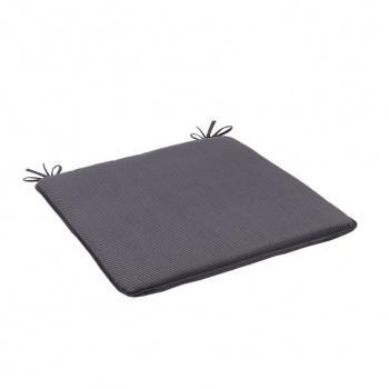 Sada designových podsedáků EDDA 50310-700 černá- 4 kusy