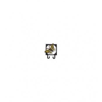 Kovový věšák - háček Motýl 1