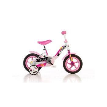 """Dětské kolo DINO Bikes 101GLN růžová 10"""""""