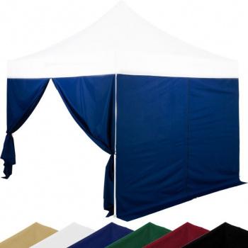 Sada 2 bočních stěn na stany INSTENT 3 x 3 m - modrá