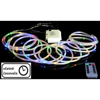 Vánoční LED osvětlení - MINI kabel - 10 m barevné