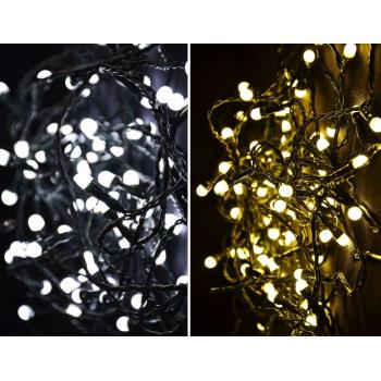 Vánoční světelný řetěz 300 LED - 9 blikajících funkcí - 29,9 m