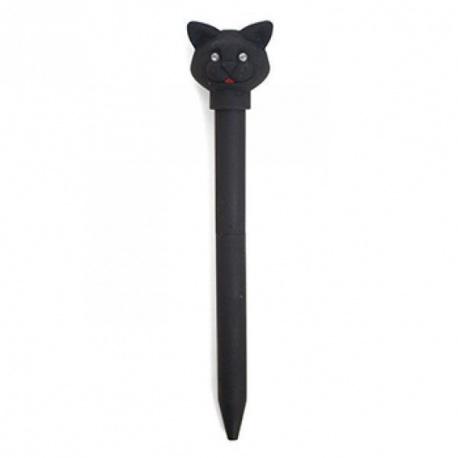 černá afro kočička